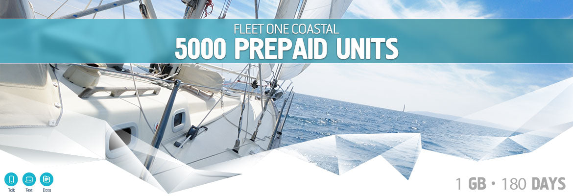 Inmarsat Fleet One Coastal Prepaid 5000 Units