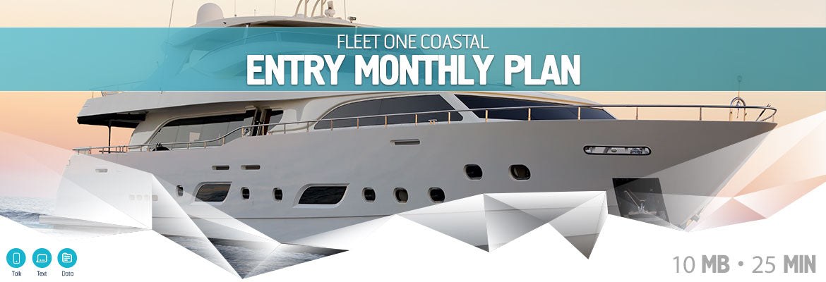 Inmarsat Fleet One Entry Monthly Plan