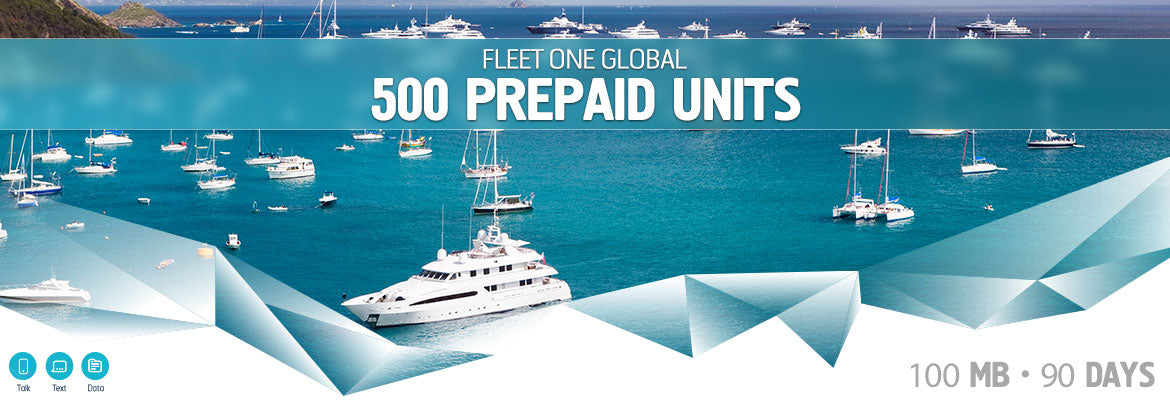 Inmarsat Fleet One Global Prepaid 500 Units
