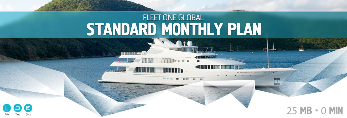 Inmarsat Fleet One Global Standard Monthly Plan