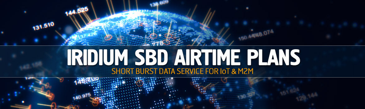 Iridium SBD Airtime Plans - Short Burst Data Service