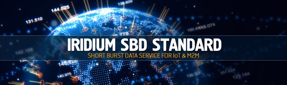 Iridium SBD Standard Plan - Short Burst Data Service