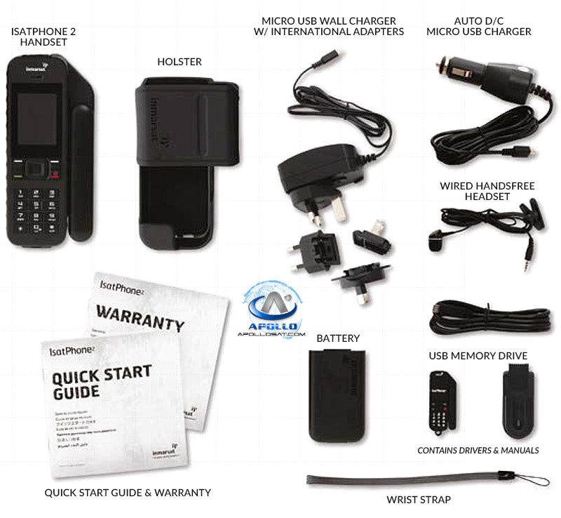 Isatphone 2 Satellite Phone