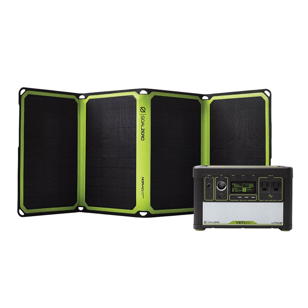 Yeti 400 Lithium & Nomad 28 Plus Solar Kit