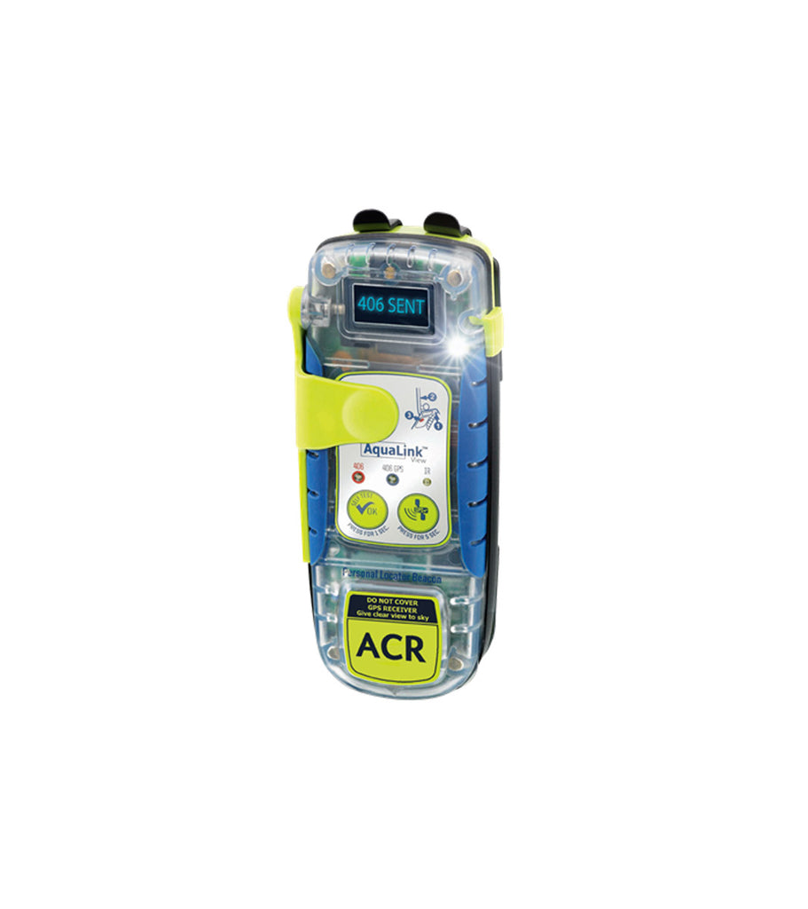 AquaLink View PLB-350C Personal Locator Beacon