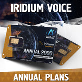 Iridium Voice Annual Airtime Service Plans