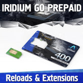 Iridium GO Plans Prepaid SIM Reload
