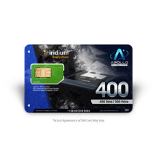 Iridium GO Global Prepaid 400 SIM Card
