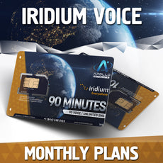 Iridium Monthly Satellite Phone Plans