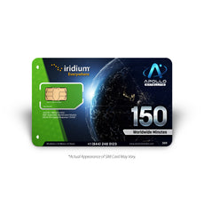 Iridium Global 150 Minute 2 Month Prepaid SIM
