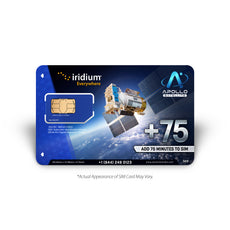 Iridium Global 75 Minute Prepaid Voucher