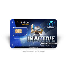 Iridium Global Inactive Prepaid SIM Card