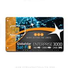 Globalstar Sat-Fi2 Enterprise 3000 Annual Service Activation
