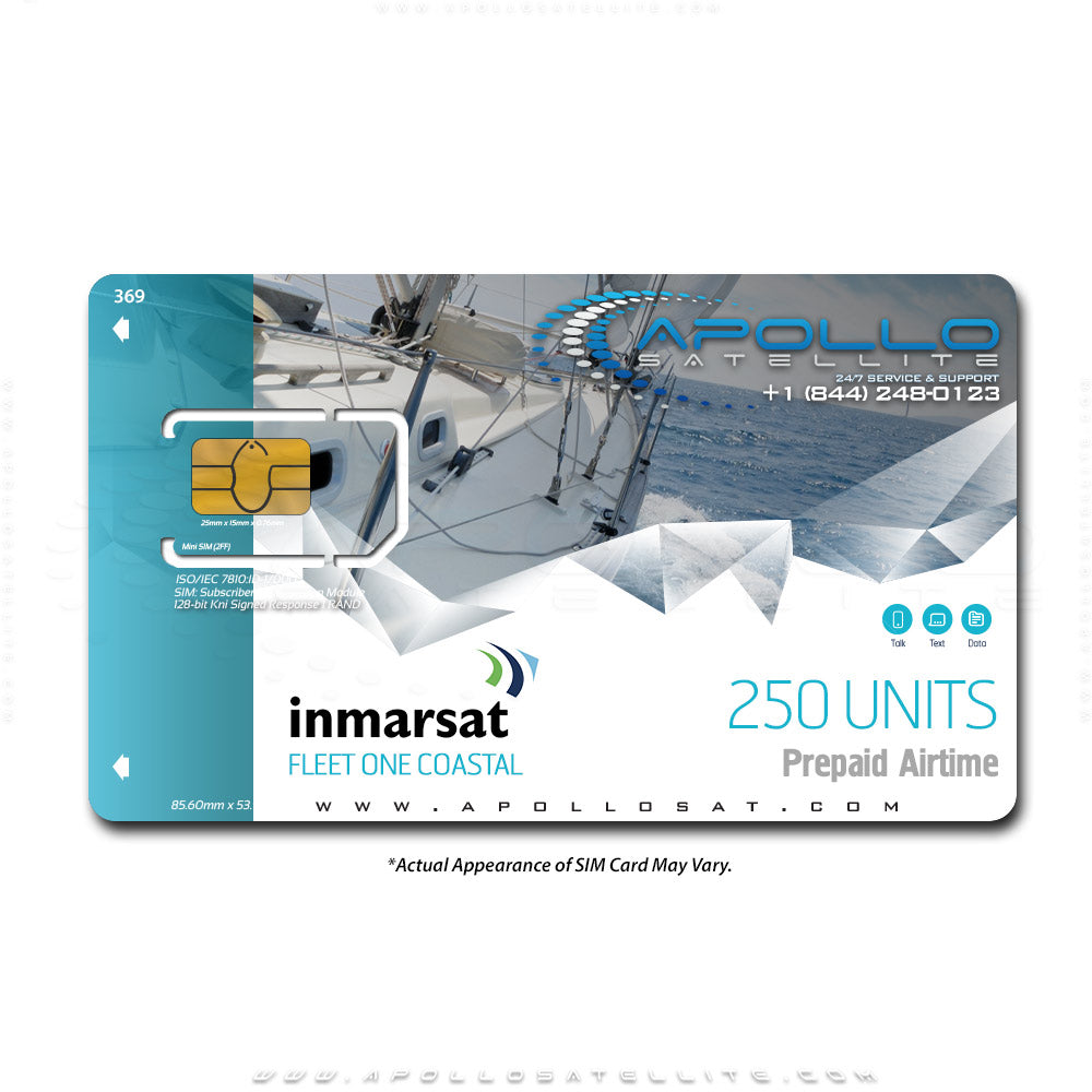 Inmarsat Fleet One Coastal Prepaid 250 Unit