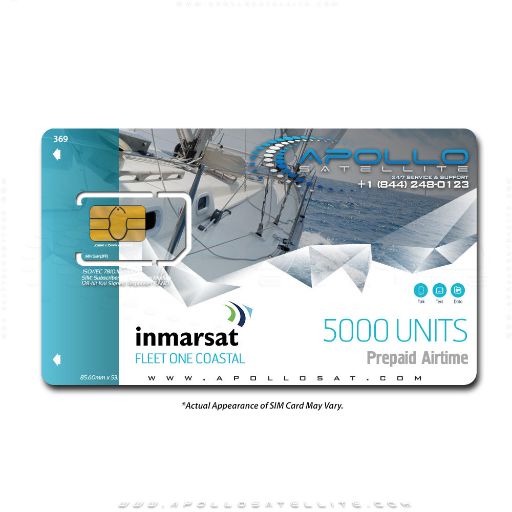 Inmarsat Fleet One Coastal Prepaid 5000 Unit