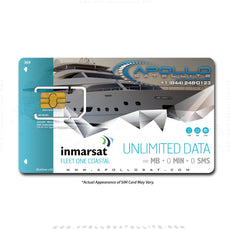 Inmarsat Fleet One Coastal Unlimited Data Monthly Plan