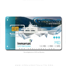Inmarsat Fleet One Global Mid Monthly Plan