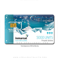 Inmarsat Fleet One Global Prepaid 5000 Unit