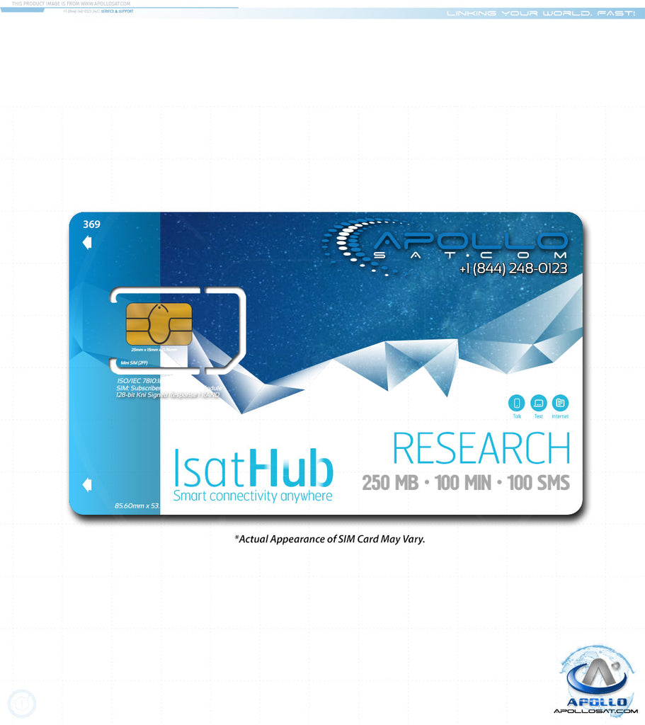 IsatHub Research Monthly iSavi Postpaid Service