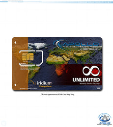 Iridium UNLIMITED Package - Monthly Postpaid Service