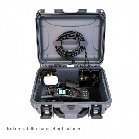 Iridium Extreme PTT Grab 'N' Go Wireless Kit PTTGNG-W1