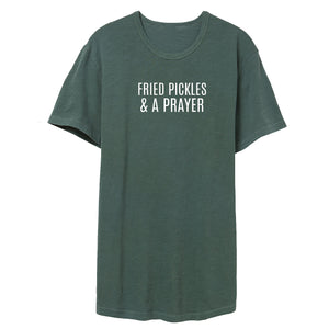 Fried Pickles & a Prayer Slub Tee *