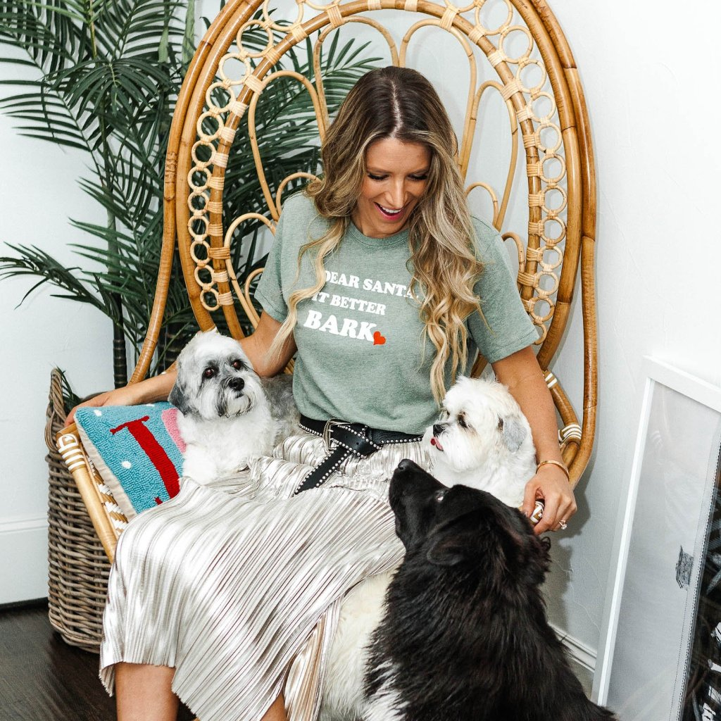Dear Santa, It Better Bark Tee*