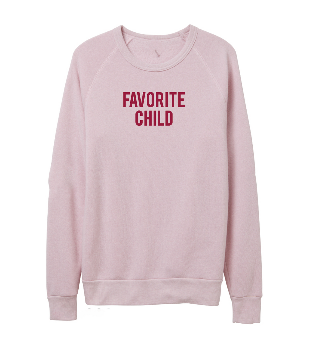 Favorite Child Blush Frankie Sweater *