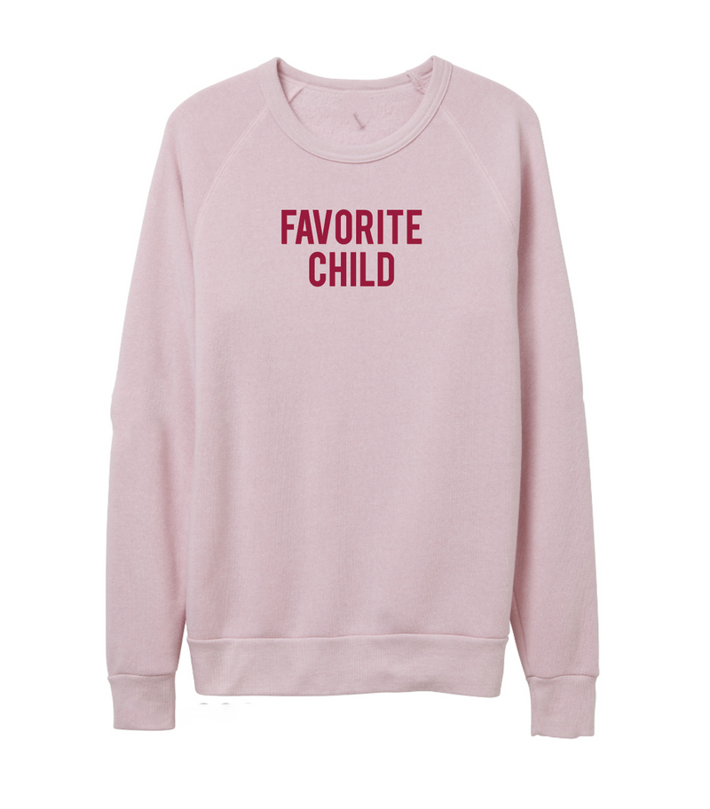 Favorite Child Blush Frankie Sweater