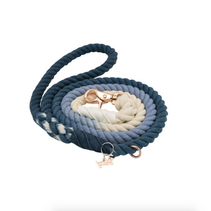 Ombre Blue Woven Leash