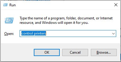 Ways to Launch Devices and Printers in Windows 10