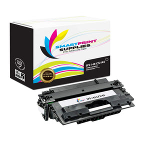 2 Pack HP 14X PQ Premium Replacement Black Toner Cartridge by Smart Print Supplies