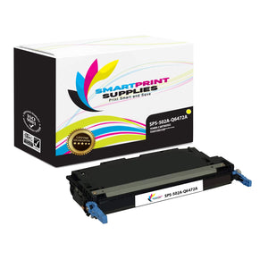 4 Pack HP 501A/502A 4 Colors Toner Cartridge Replacement By Smart Print Supplies