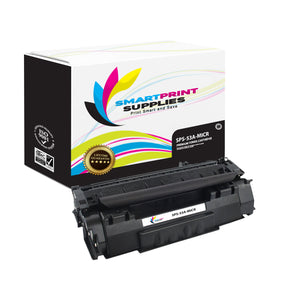 2 Pack HP 53A Q7553A Replacement Black MICR Toner Cartridge by Smart Print Supplies