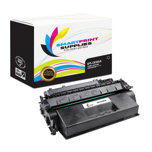 2 Pack HP 05A Black Toner Cartridge Replacement By Smart Print Supplies