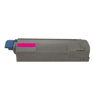 1 Pack Okidata C610 Magenta Toner Cartridge Replacement By Smart Print Supplies
