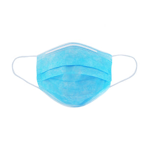 Antiviral Face Mask - Breathable and Disposable Surgical Mask with 3 Protective Layers 50 Pack Box