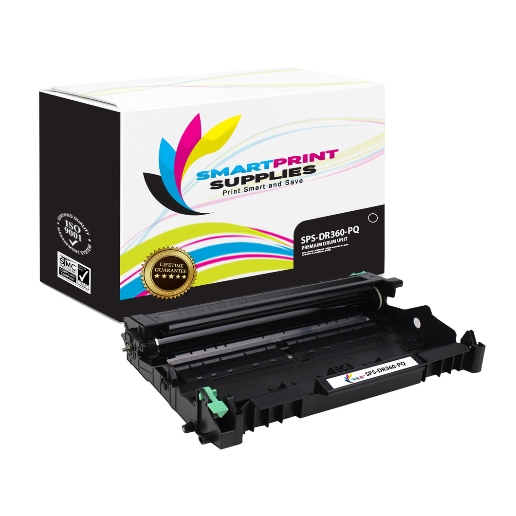Brother DR360 Premium Replacement Black Drum Unit by Smart Print Supplies