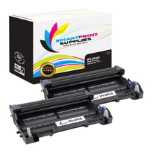 2 Pack Brother DR520 Replacement Drum Unit By Smart Print Supplies