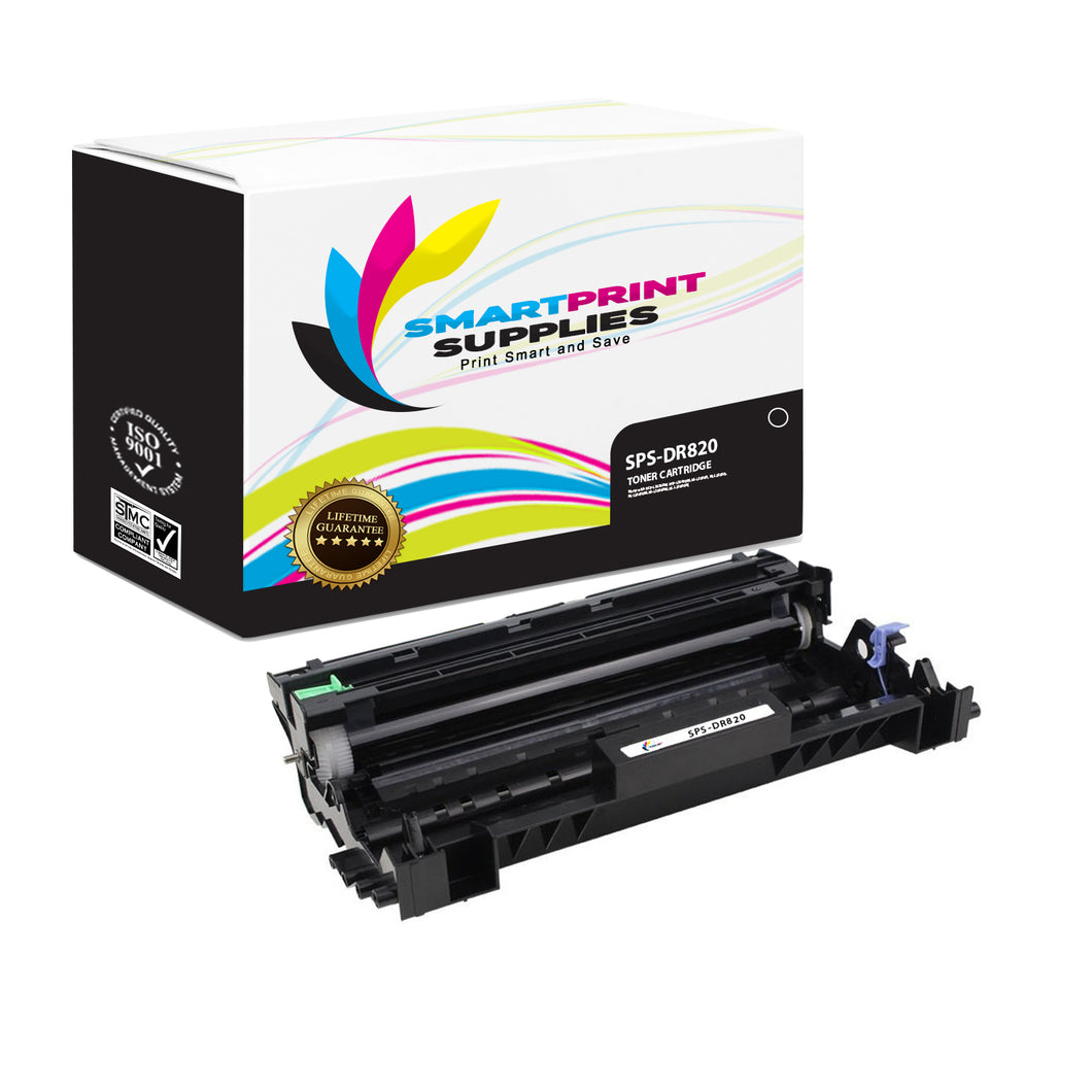 Brother DR820 Replacement Black Drum Unit by Smart Print Supplies /30000 Pages