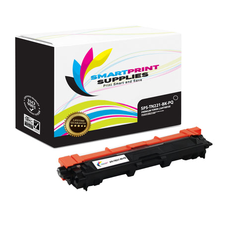 Brother TN221 Premium Toner Cartridge Replacement By Smart Print Supplies