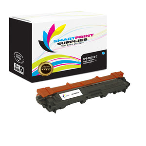 5 Pack Brother TN225 4 Colors Replacement Toner Cartridge By Smart Print Supplies