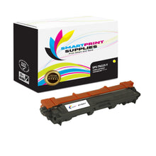 Brother TN225 Replacement Yellow Toner Cartridge by Smart Print Supplies /2200 Pages
