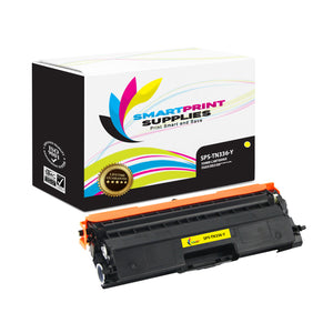Brother TN336 Replacement Yellow Toner Cartridge by Smart Print Supplies /3500 Pages