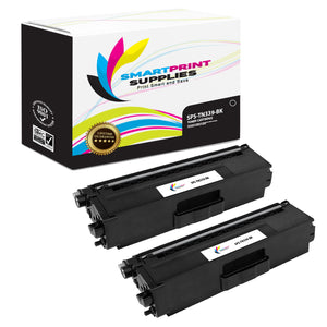 Smart Print Supplies TN339 Black Replacement Toner Cartridge Two Pack