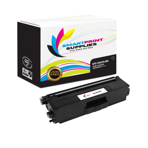 Brother TN339 Replacement Black Toner Cartridge by Smart Print Supplies /6000 Pages