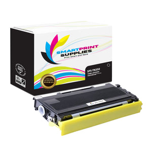 1 Pack Brother TN350 Black Replacement Toner Cartridge By Smart Print Supplies