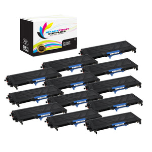 12 Pack Brother TN360 Black Replacement Toner Cartridge By Smart Print Supplies