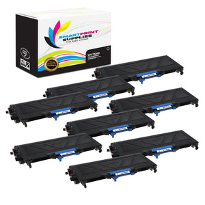 8 Pack Brother TN360 Black Replacement Toner Cartridge By Smart Print Supplies