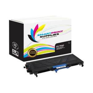 1 Pack Brother TN360 Black Replacement Toner Cartridge By Smart Print Supplies